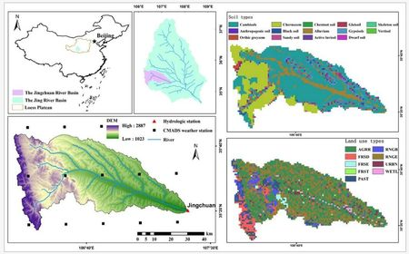 03-Application of SWAT Model with CMADS Data in Jinghe River Basin, China