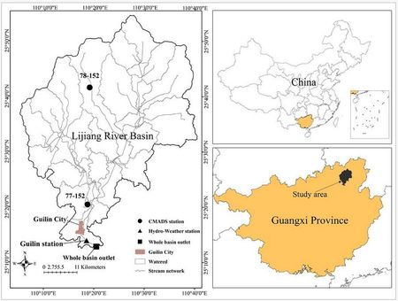 04-Application of SWAT Model with CMADS Data in Lijiang River, China