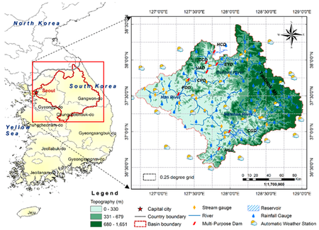 02-Application of SWAT Model with CMADS Data in Han River Basin in the Korean Peninsula, East Asia